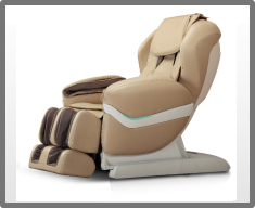 Wellness-Massagesessel Shiatsu Futura Light deluxe creme