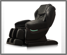 Wellness-Massagesessel Shiatsu Futura Light deluxe schwarz